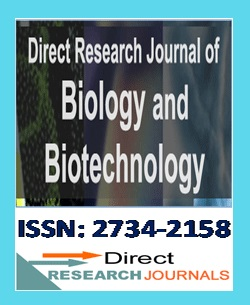 Direct Research Journal of Biology and Biotechnology