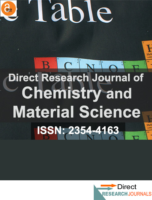 Direct Research Journal of Chemistry and Material Science