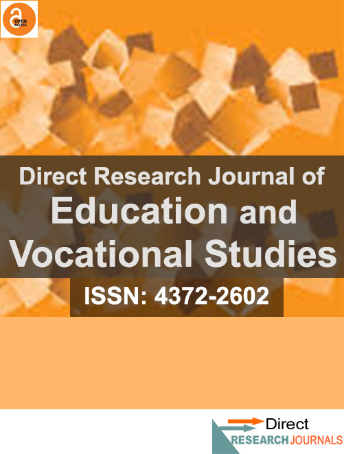 Direct Research Journal of Education and Vocational Studies
