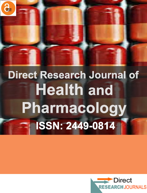 Direct Research Journal of Health and Pharmacology