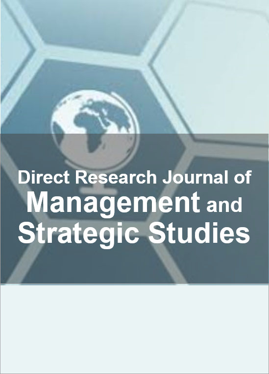 Direct Research Journal of Management and Strategic Studies