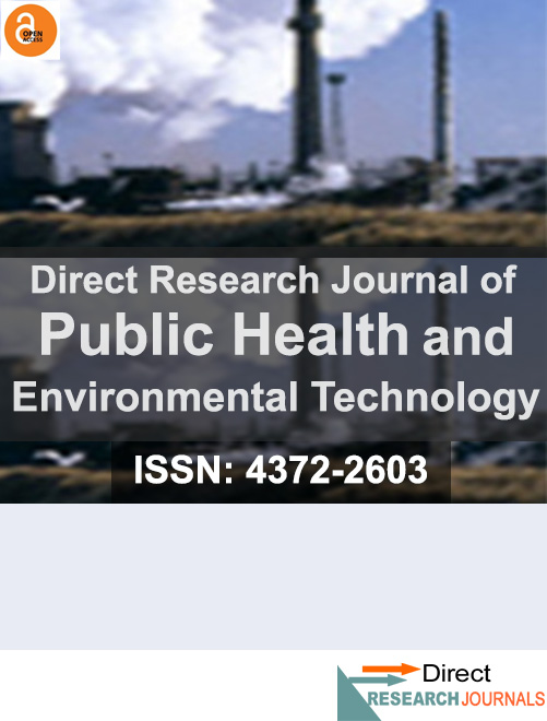 Direct Research Journal of Public Health and Environmental Technology
