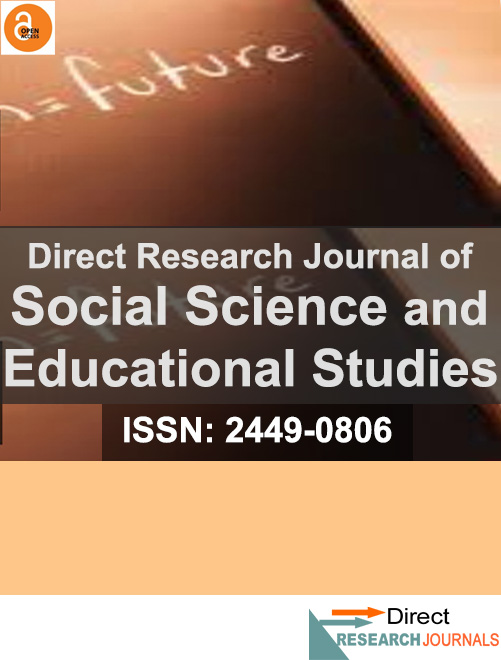 Direct Research Journal of Social Science and Educational Studies